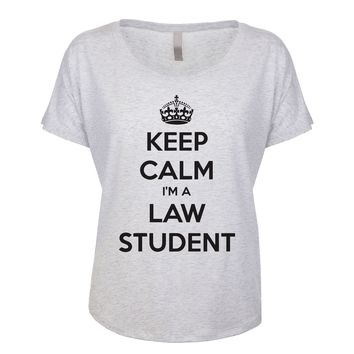 Keep Calm I'm A Law Student Women's Dolman