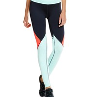 Gianni Bini Active Tucson Color Block Legging | Dillards