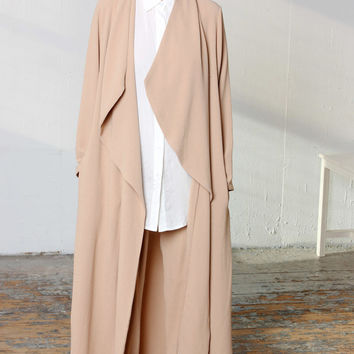 Maxi Duster Camel by Never Fully Dressed