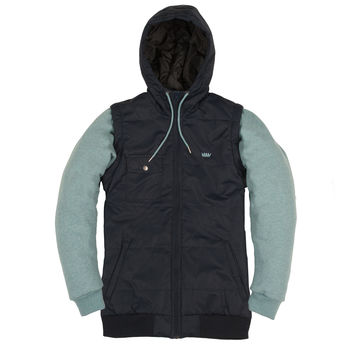 Pusher 14 Heather Navy/Teal
