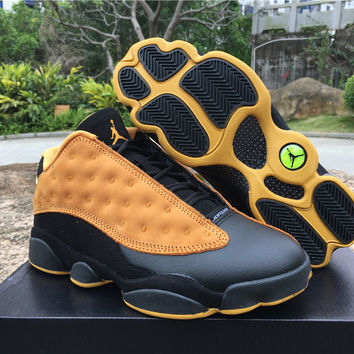 "Air Jordan 13 Low ""Chutney"" AJ13 Retro Men Basketball Shoes"
