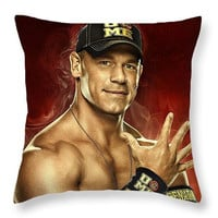 John Cena Throw Pillow