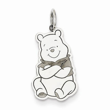 Sterling Silver Disney Winnie the Pooh Charm / Pendant