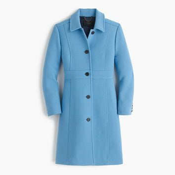 Italian double-cloth wool lady day coat with Thinsulate®