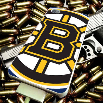 Boston Bruins art design for iPhone 4/4s/5/5s/5c/6/6 Plus Case, Samsung Galaxy S3/S4/S5/Note 3/4 Case, iPod 4/5 Case, HtC One M7 M8 and Nexus Case ***