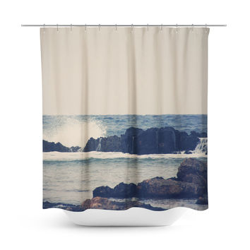 Ocean Blue 2 Shower Curtain