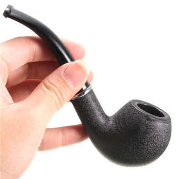 Hot Sale High Quality  Wooden Smoking Pipe Hookah Vintage Durable Stone Style Cigar Cigarette Smoking Tobacco Pipe Gifts For Men