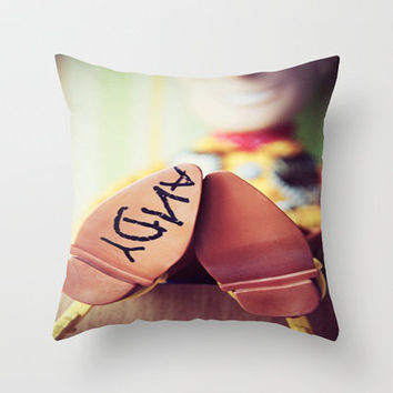 ANDY Throw Pillow by Sjaefashion | Society6