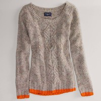 AE Donegal Tweed Sweater | American Eagle Outfitters