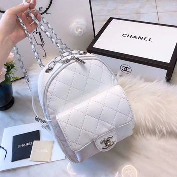 """CHANEL"" Latest Lingge Backpack"