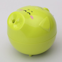 Aroma Essential Oil Diffuser Air Humidifier/PIG-Green