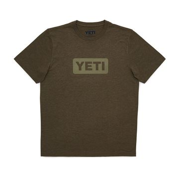 Badge Logo T-Shirt in Olive by YETI