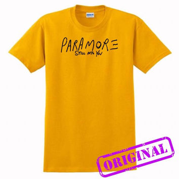 paramore still into you for shirt gold, tshirt gold unisex adult