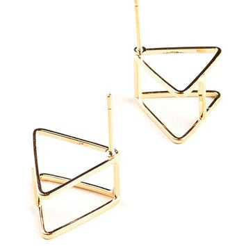 Tri My Angle Earrings