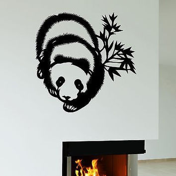 Wall Stickers Panda Animal Bear Kids Room Art Mural Vinyl Decal (ig1954)