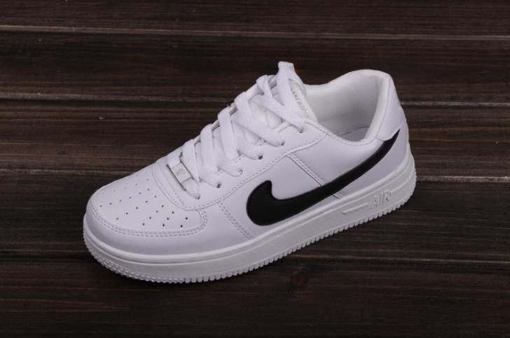 NIKE Women Men Running Sport Casual Shoes Sneakers Air force White abfc299ec95e
