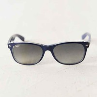 Ray-Ban Matte Blue New Wayfarer Sunglasses- Blue One