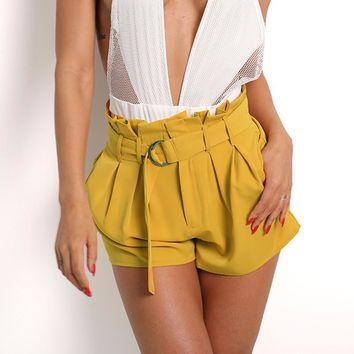 Casual Pants Hot Sale Summer High Waist Club Shorts [11604677775]