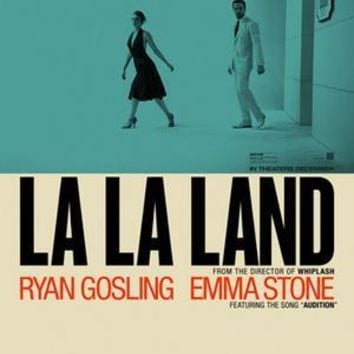 La La Land Movie Poster 27inx40in Reprint Lala Land 27inx40in Reprint