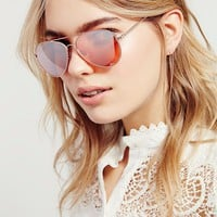Free People Dazed & Confused Aviator Sunnies