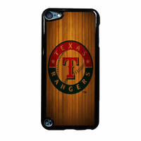 Texas Rangers Wood Pattern iPod Touch 5th Generation Case