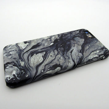 Vintage Black Marble Stone iPhone X 8 7 Plus & iPhone 6s 6 Plus Case Anti-skid Cover + Nice Gift Box