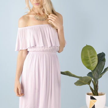 Miya Off Shoulder Summer Dress