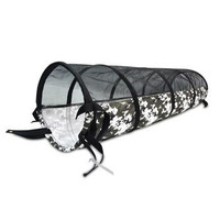 P.L.A.Y. Tunnel Dog Toy - Black and White Camo
