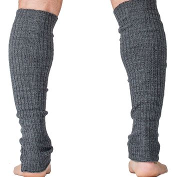 Men's Leg Warmers 16 Inch Stretch Knit Ribbed High Quality KD dance New York Made In USA