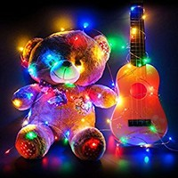 imimon Multi-Colored Light, warm String Lights for Bedroom, Patio, Party, Wedding, Christmas Decorative, led lights with 8 mode 60 LED twinkle lights Waterproof 20ft Wire .