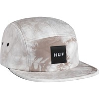 Huf Crystal Wash Volley 5-Panel Hat Light Gray, One