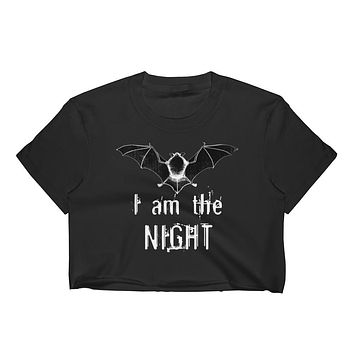 I am the Night Women's Crop Top