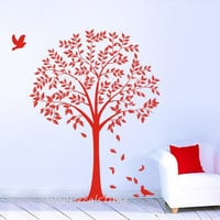 Vinyl Tree Wall Decals Tree Wall Sticker Trees Decals Removable Vinyl Decal Wall Decor Wall Sticker Wall Art 40146