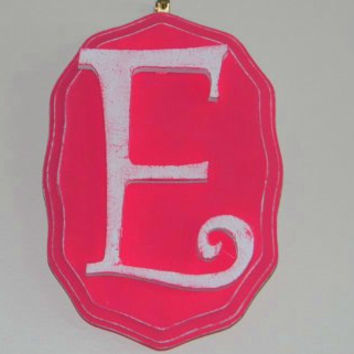 Decorative letters/Vintage Wall Letters  (PINK)/ Photo Prop