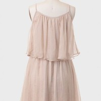 Tuscan Rendezvous Tiered Dress