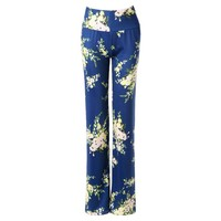 Stylish High-Waisted Floral Print Loose-Fitting Women's Exumas Pants
