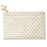 Pencil Pouch in Deco Dots by Kate Spade New York - FINAL SALE