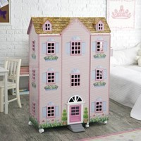 Teamson Kids Paris Mansion with Furniture - Dollhouses at Hayneedle