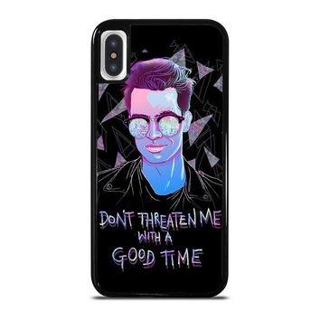 PANIC AT THE DISCO BRENDON URIE iPhone X / XS case