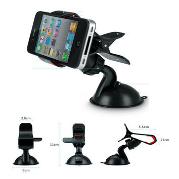 Universal 360dergee Car-styling Car Holder Phone Holder Windshield Stand