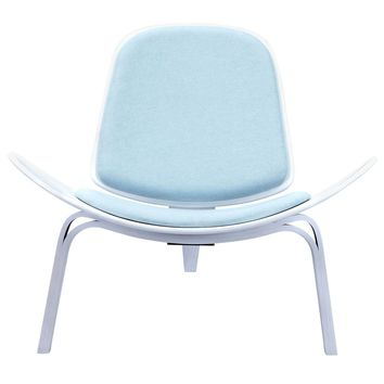 Glacier Blue Shell Chair