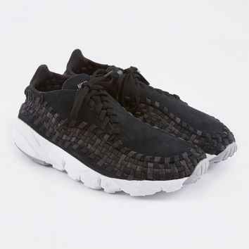 Nike Air Footscape Woven NM - Black/Dark Grey