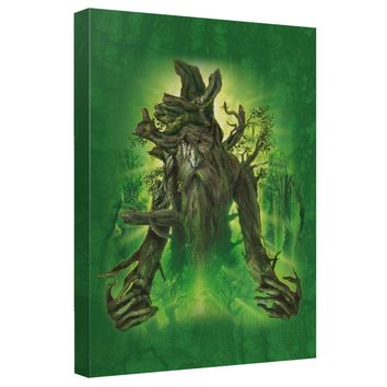 Lord Of The Rings - Treebeard Canvas Wall Art With Back Board