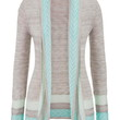 Lightweight Patterned Stripe Cardigan