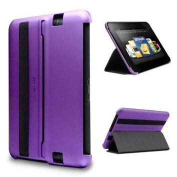 "Marware MicroShell Folio Lightweight Standing Case for Kindle Fire HD 7"", Purple (only fits Kindle Fire HD 7"")"