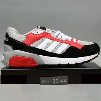 Adidas NEO RUN9TIS Fashion Casual Women Men Running Sport Casual Shoes Sneakers Red G-A0-HXYDXPF