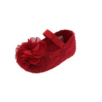 Baby Deer Lace Infant Girls Mary Janes