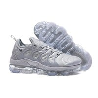 2018 Nike Air VaporMax Plus TN Grey | 924453-005 Sport Running Shoes - Best Online Sale