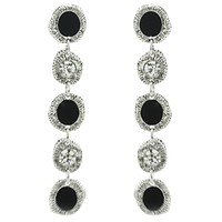 Dangling Circle Earrings