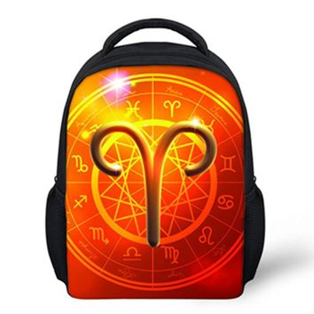 Nopersonality 2017 New Small Children School Bags for Boys Backpack 3D Symbol Back pack for Kids Girls Star Bags for Child Cool